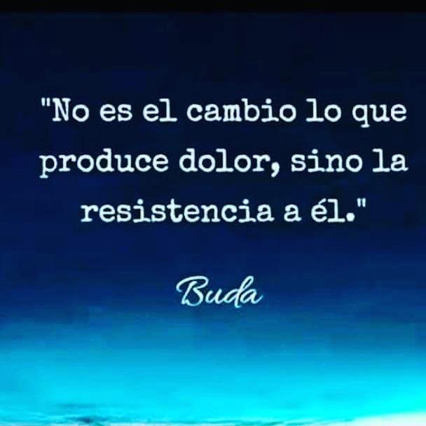 Resistirse al cambio y no fluir es lo que produce dolor. #Quote #softskills #cambio https://t.co/S2MVzPufiK