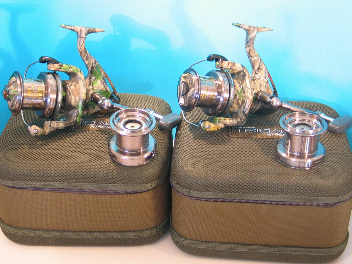 Ad - 2 x Shimano Tribal 5500 XTA Reels On eBay here -->> https://t.co/F2rfxH0C9M  #carpfishing