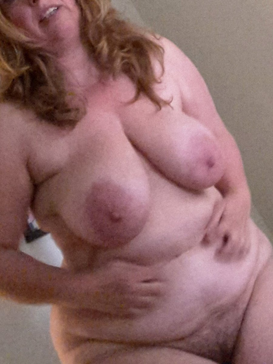 Friends wife' do you like her soft hanging tits? #mature #beautiful