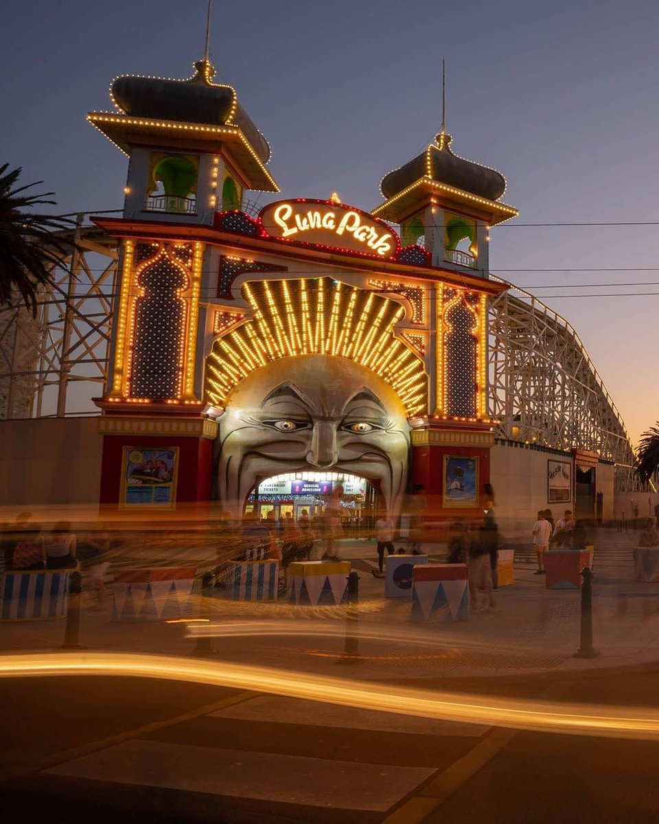 test Twitter Media - Did you know that Luna Park Melbourne originally opened in 1912? Since then millions of visitors have stepped through Mr Moon's iconic mouth. (via IG/exploreportphillip). https://t.co/Jl4qgJjmgU