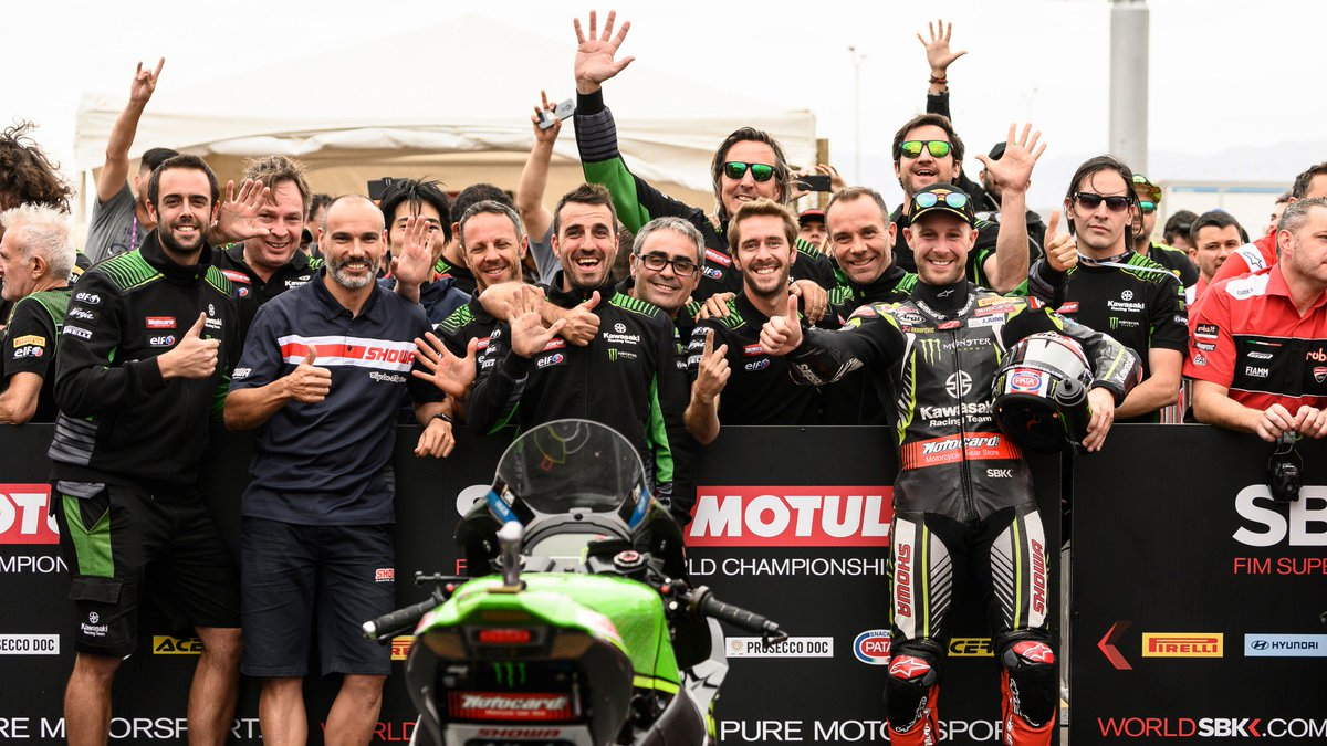 test Twitter Media - 🖐@KRT_WorldSBK clinch Teams' Championship!🏆  After a year of tremendous highs, KRT achieve a fifth Teams' Championship in succession!  #ARGWorldSBK 🇦🇷  📃| #WorldSBK https://t.co/VmD8jQFqYW https://t.co/EF4dWK4ikb