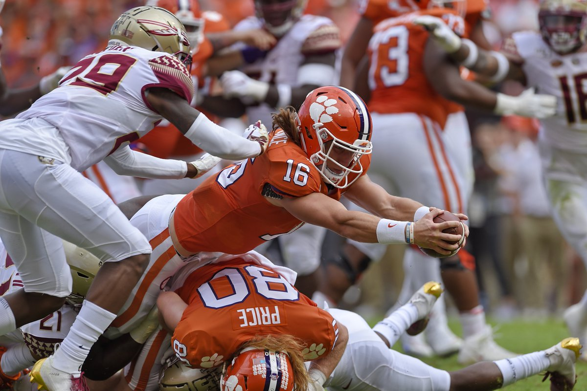 test Twitter Media - Disparity in physicality was alarming: At about every position, Clemson played like the hungrier & tougher team.  It's going to take time for FSU to improve the quality of the roster but the toughness thing could -- and should -- be fixed sooner.  https://t.co/wWVP0txp2N https://t.co/LICn0no2v8