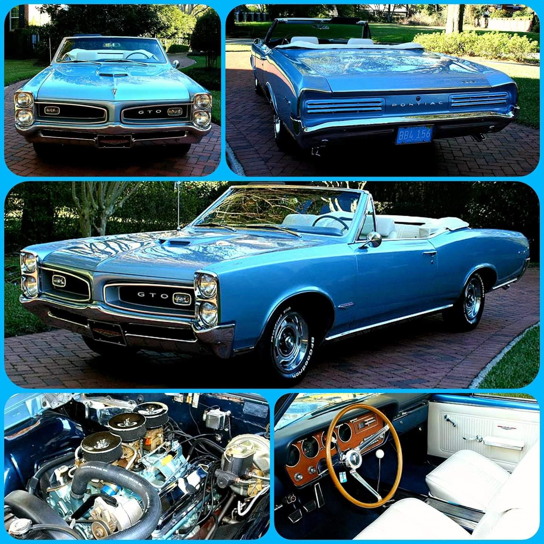 1966 Pontiac GTO Convertible https://t.co/Q2uOHr6BH9