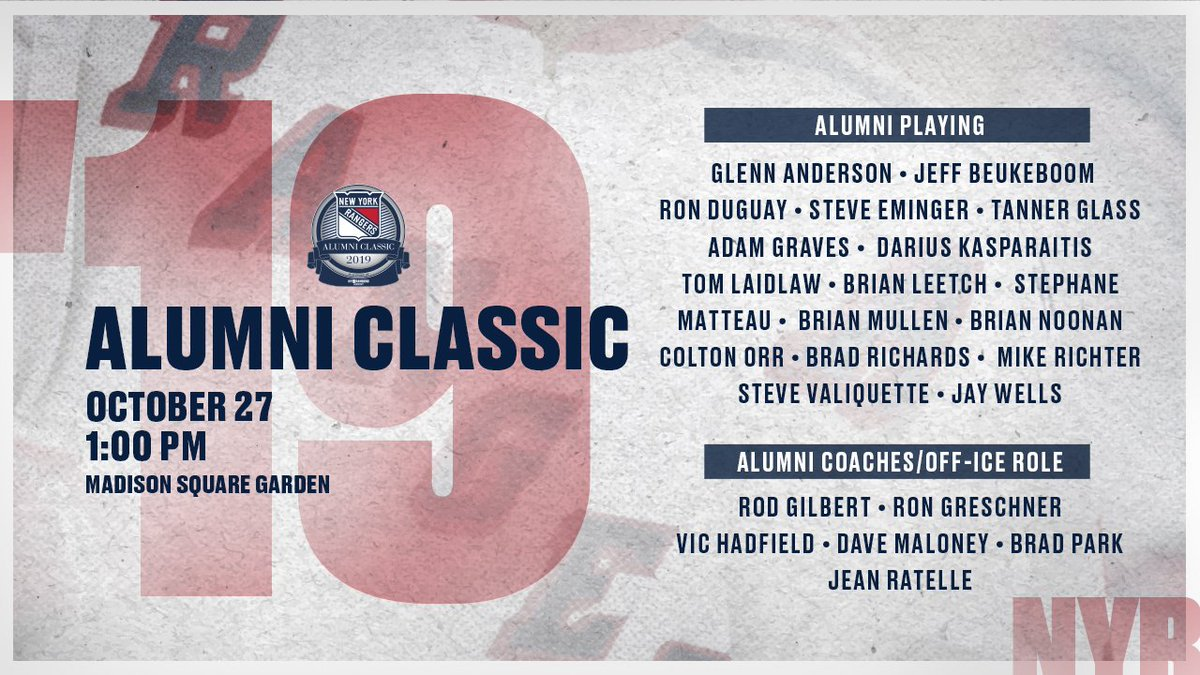 test Twitter Media - This lineup 🔥   See the legends in action against Boston alumni on Oct. 27 at @TheGarden before we take on the Bruins. https://t.co/335USuclDP https://t.co/GRB47UzJV4