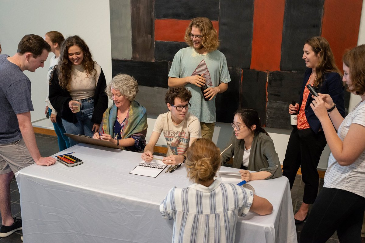 test Twitter Media - Join the Snite Museum at our first ever Monster Drawing Rally on Thursday Oct 17th from 5:30 - 7:30 PM. 24 artists will take 60 minute shifts making artwork out of a variety of mediums that will immediately be made available to the audience for purchase using a token system. https://t.co/8PrCTmA1Dj
