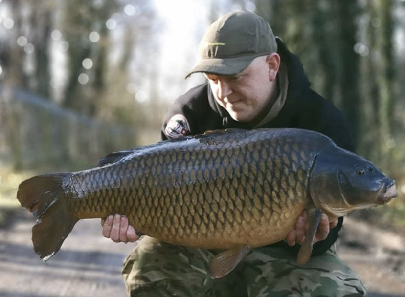 One from February from Grant Winterson 💪🏻🎣  @TheCARPbible  #Carp #CarpFishing #Fishing http