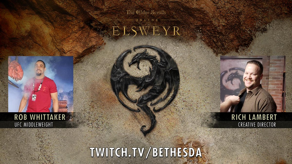 test Twitter Media - We have a treat for all of you!  Today at 2:45pm AEDT (4:45pm NZDT), we have Rich Lambert @SlashLurk and Rob Whittaker @robwhittakermma live streaming @TESOnline from our office! There will even be drops active too.  Hope to see you then ☺️ #ESO #ESOFam  https://t.co/dNgphXYokz https://t.co/L49I0PoPsT