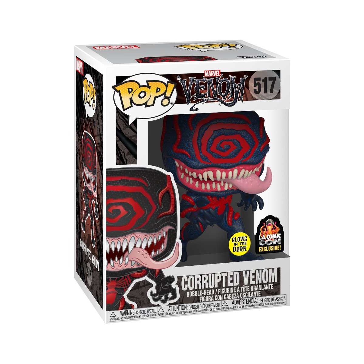 RT & follow @OriginalFunko for a chance to WIN a @HotTopic L.A. Comic Con exclusive Glow-in-the-Dark Corrupted Venom Pop!  #Funko #Pop #Exclusive #Giveaway #FunkoFamily #Marvel