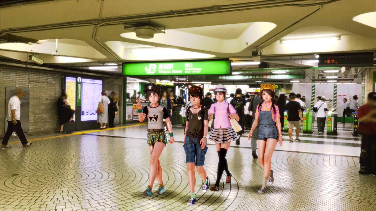 test ツイッターメディア - 新宿にやってまいりました  #バーチャル旅行  #プレイホーム #ハニーセレクト https://t.co/g2PkhYbtdp
