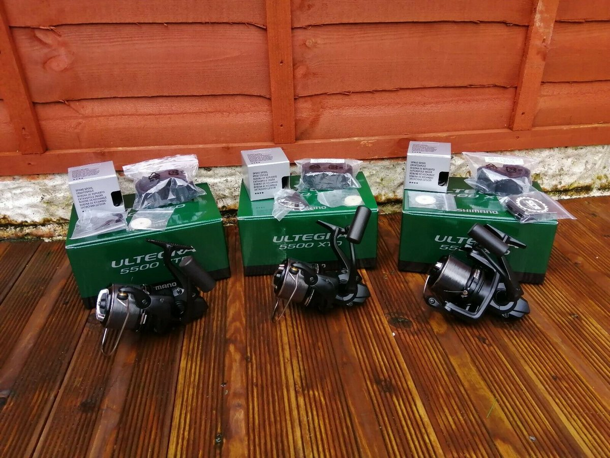 Ad - Shimano Ultegra 5500 XTD Reels x3 On eBay here -->> https://t.co/QZ162bRFbK  #carpfishing