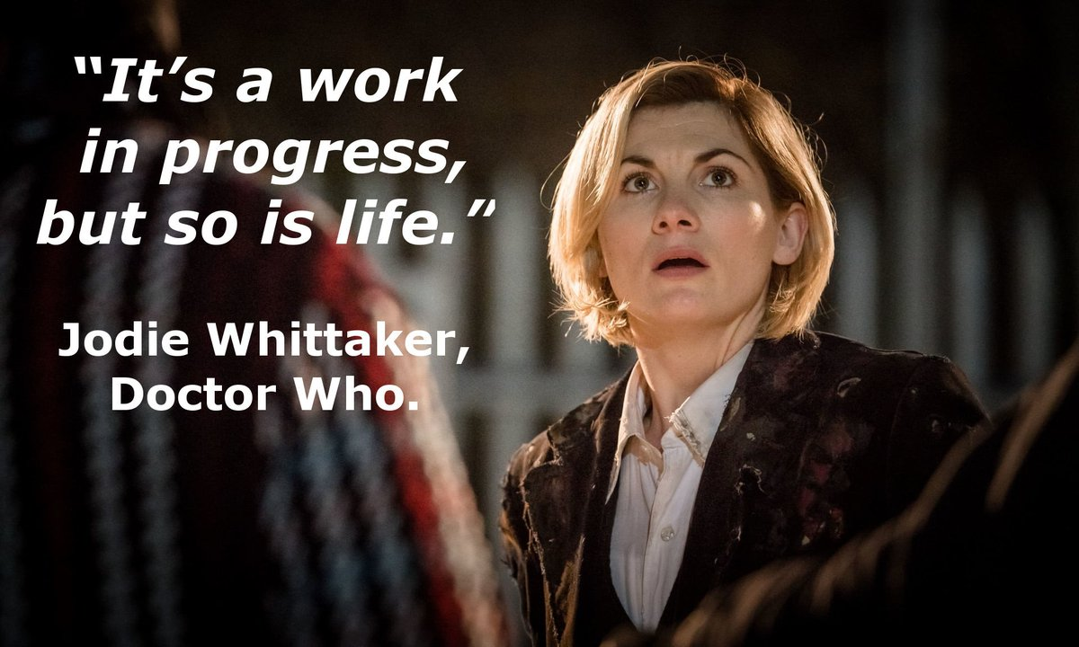 test Twitter Media - Life is the ultimate work in progress  #wisewords #jodiewhittaker #life #wip #doctorwho https://t.co/cPT0I2LfGQ