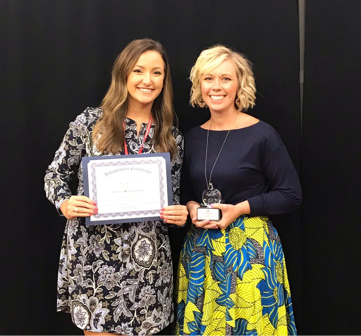 test Twitter Media - Ms. Brewster and Mrs. Ball were recognized as nominees for the Excellence in Mathematics teaching award last night at CSU! Mrs. Ball was the recipient of the Professional Excellence in Mathematics award! #inspireandempower https://t.co/5kyvh5hzLc