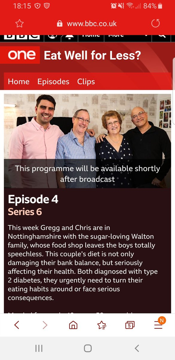 test Twitter Media - Tomorrow (Wednesday 16th October) 8pm, BBC1.  'Eat well for less', focussing on the eating habits of a couple with #type2diabetes and the sensible and achievable changes that help them start to take control of their #health #diabetes #type2 https://t.co/AIRzoYcLZm