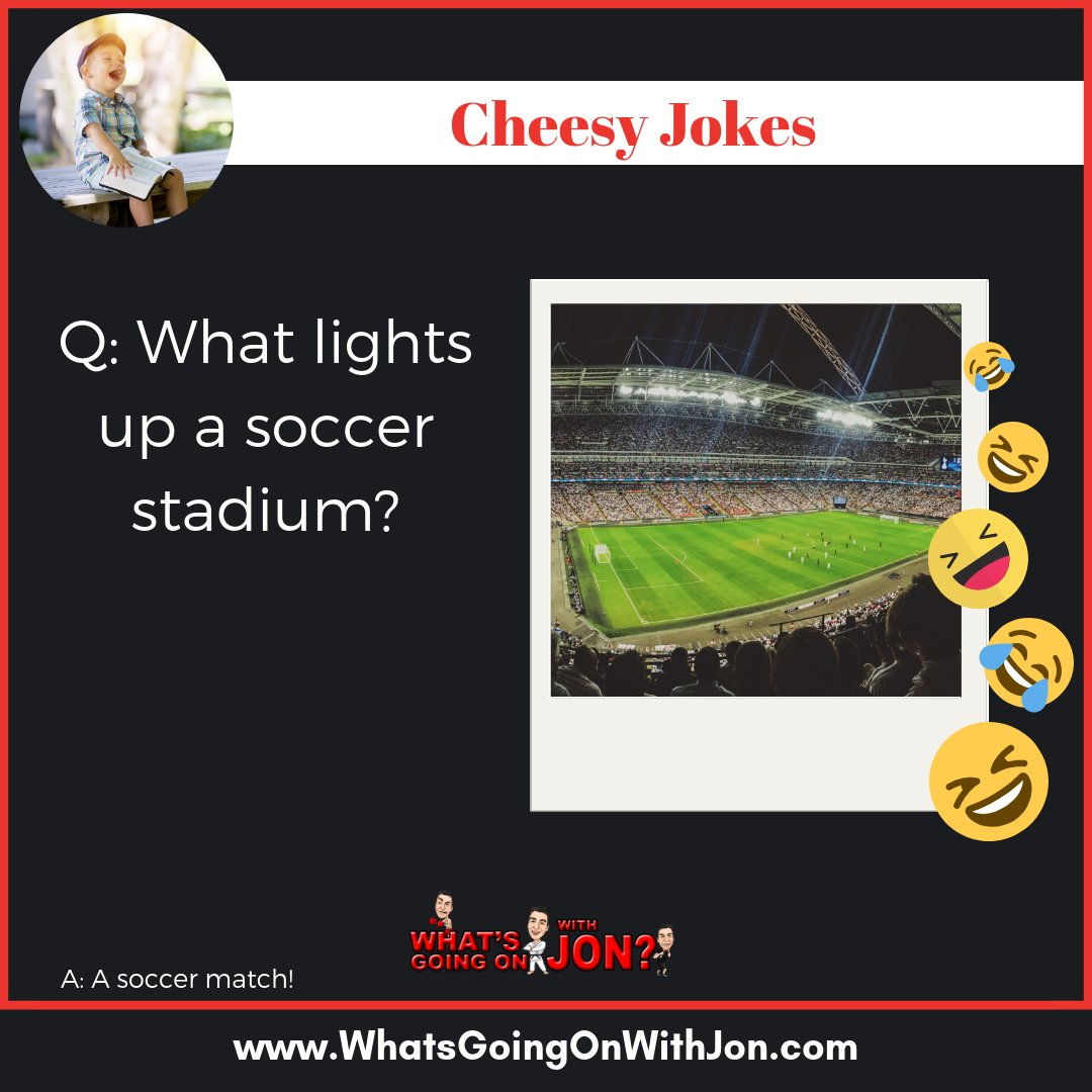 test Twitter Media - Tag a friend who needs a laugh 🤣 - #soccer #worldcup #game #seasons #practice #adidas #football #futbol #sports #FIFA #MLS #jokes #cheesy #dad #dadjokes #fun #funny #today #badjokes #laugh #smile #laughing #laughter #comedy #puns #punny #pun #humor https://t.co/k4HikYmBXt