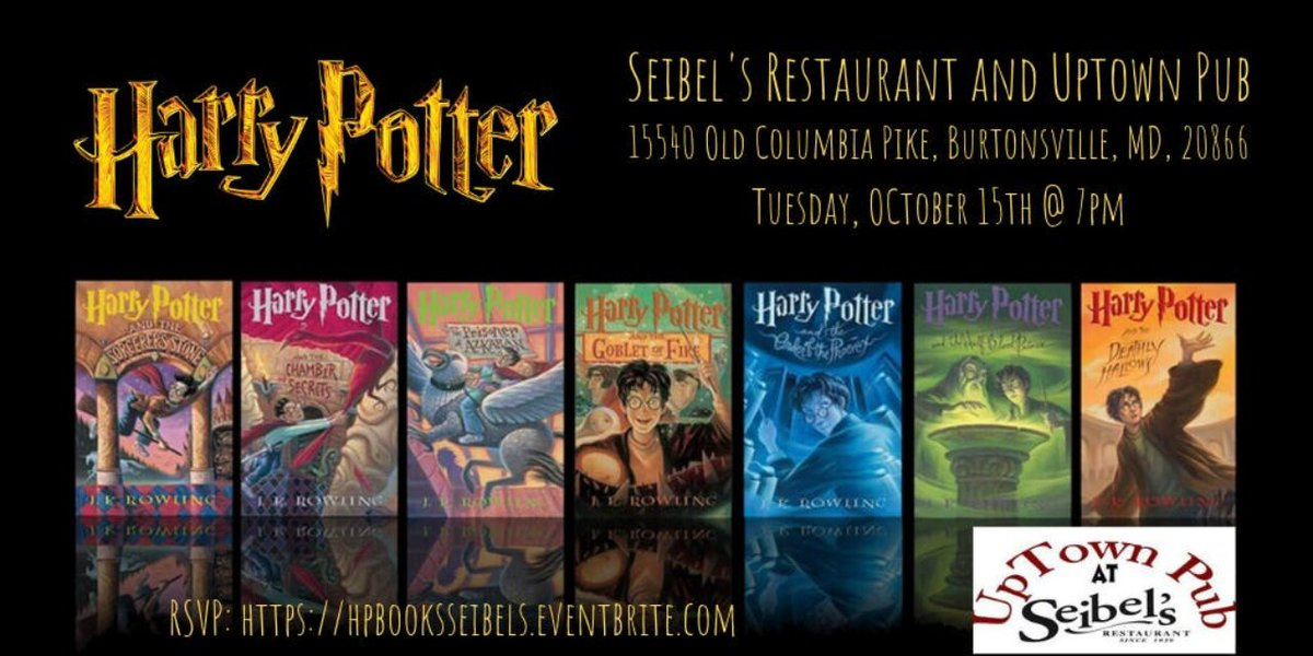 test Twitter Media - Harry Potter Book Trivia TONIGHT at 7pm! @seibels.restaurant RSVP: https://t.co/wAi99mRHFZ #burtonsville #harrypotter #harrypottertrivia #jkrowling #hogwarts #hermionegranger #ronweasley #gryffindor #triviatainment https://t.co/KfUSrHWGLO