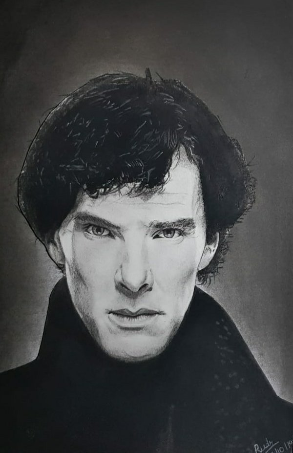 test Twitter Media - Sketched by my 13 years' old nephew, Rudr! @Sherlockology @Cumberbitches @Sherlock221B #SherlockHolmes #Sherlock @BBC #benedictcumberbatch #Sketchbook #sketches https://t.co/4fU2KaFSr8