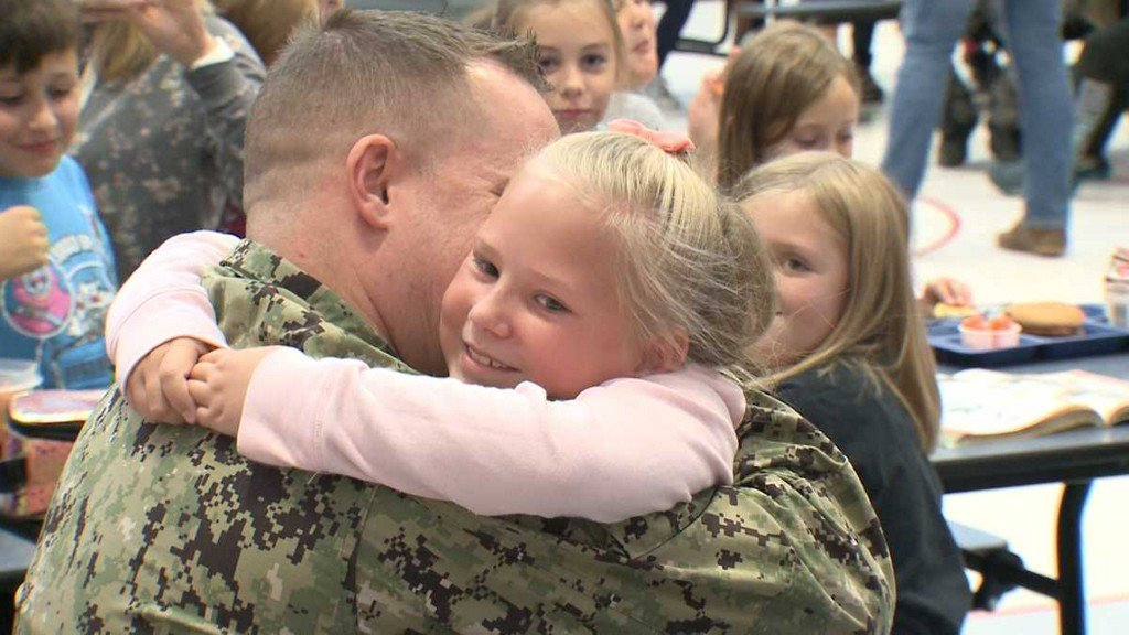 test Twitter Media - Military dad deployed overseas for 13 months surprises kids at school https://t.co/Tl2lfL7uVF https://t.co/cKkfeoTtDM