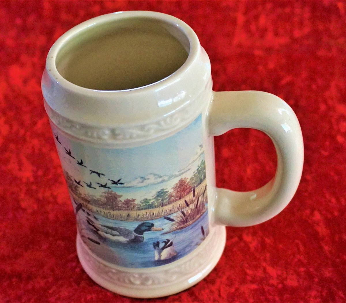 test Twitter Media - Excited to share the latest addition to my #etsy shop: Vintage Beer Stein Or Large Coffee Mug, Rare Find Collectible Ducks & Cattails Stoneware Unique Gift For Him Or Her, Same Day Free Shipping. https://t.co/V3naQKwV52 #housewares #blue #birthday #fathersday #no #cera https://t.co/GNv4iM65FM