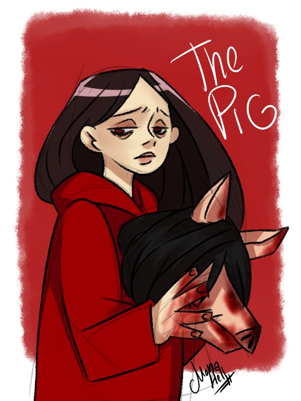 test Twitter Media - The Pig (Amanda Young) DBD #DeadbyDaylight #dbd自己紹介カード #dbd  #doodle #sketches #ArtistOnTwitter #fanart https://t.co/Xrc4g75bNL