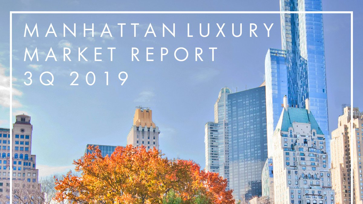 Discover the latest edition of our @TrumpRealty 2019 Third Quarter Luxury Market Report providing an exclusive look into Manhattan's luxury market conditions