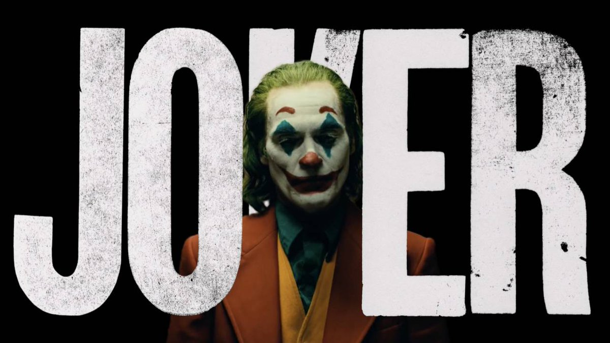 Just got back from seeing #Joker thought it was a brilliant piece of filmmaking. By far the darkest DC movie there has ever been. And if Joaquin Phoenix is not nominated for best actor, there is something really wrong with the world. Great film, don't take the kids!