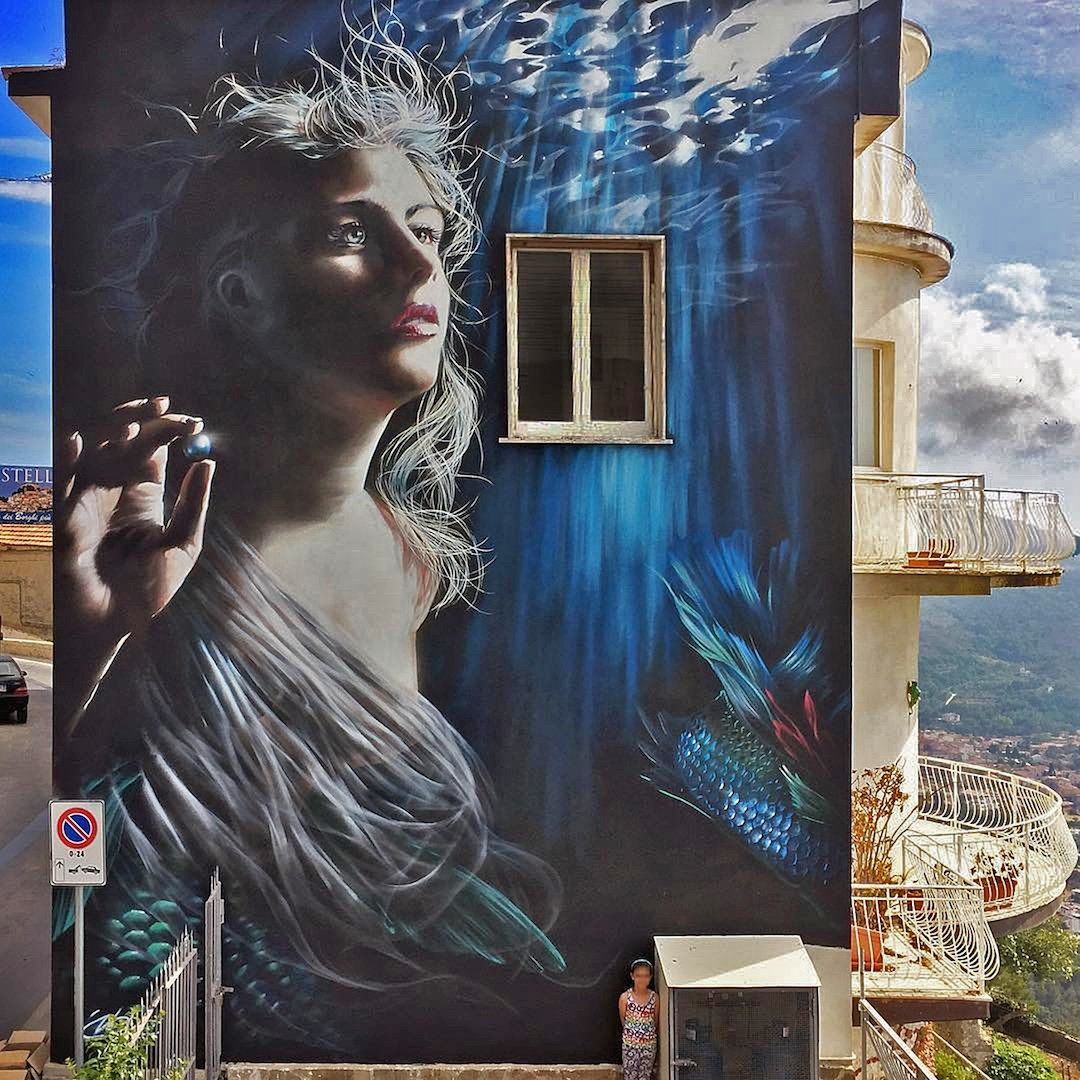 #streetart #mural #graffiti By Neve in Castellabate, Italy. https://t.co/fKvwbW8JKh