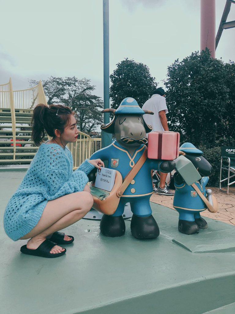 test ツイッターメディア - sweetの撮影で東武動物公園🐘幼稚園の遠足ぶり?かな。大人になったよ🥺✨ https://t.co/LUcLf838lo