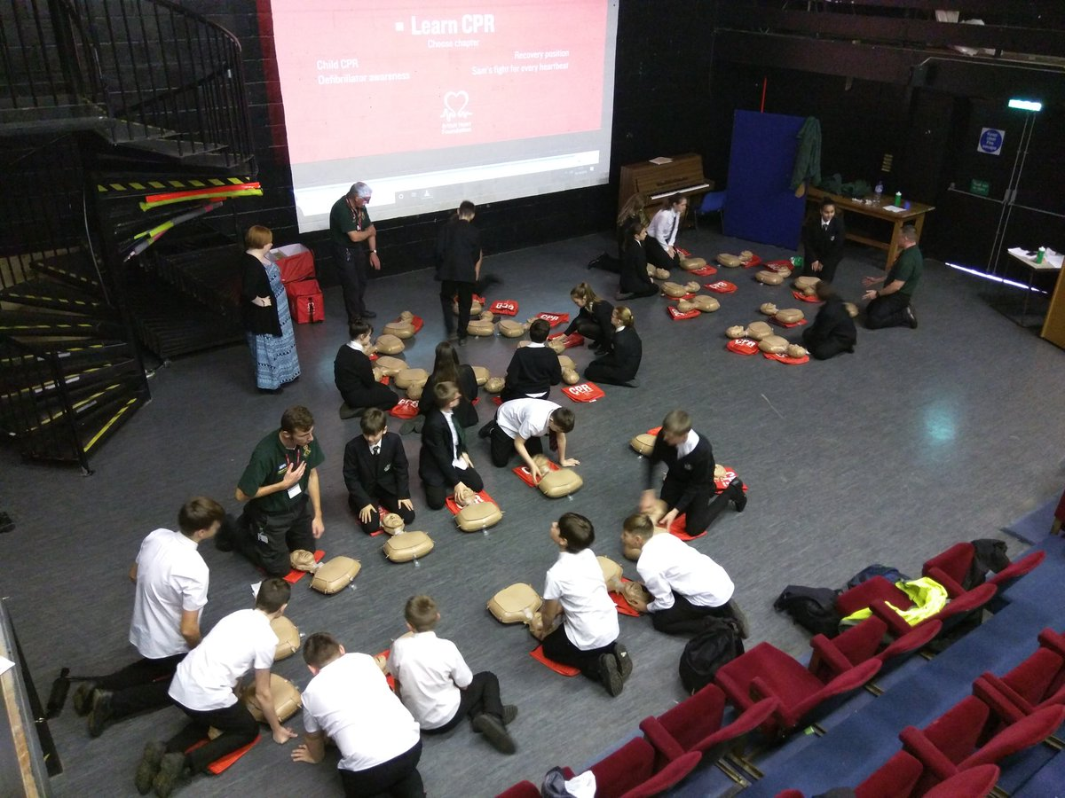 test Twitter Media - Today is #RestartAHeartDay and students from key stage 3 have been learning how to react to save lives..... https://t.co/8sPNRftylt