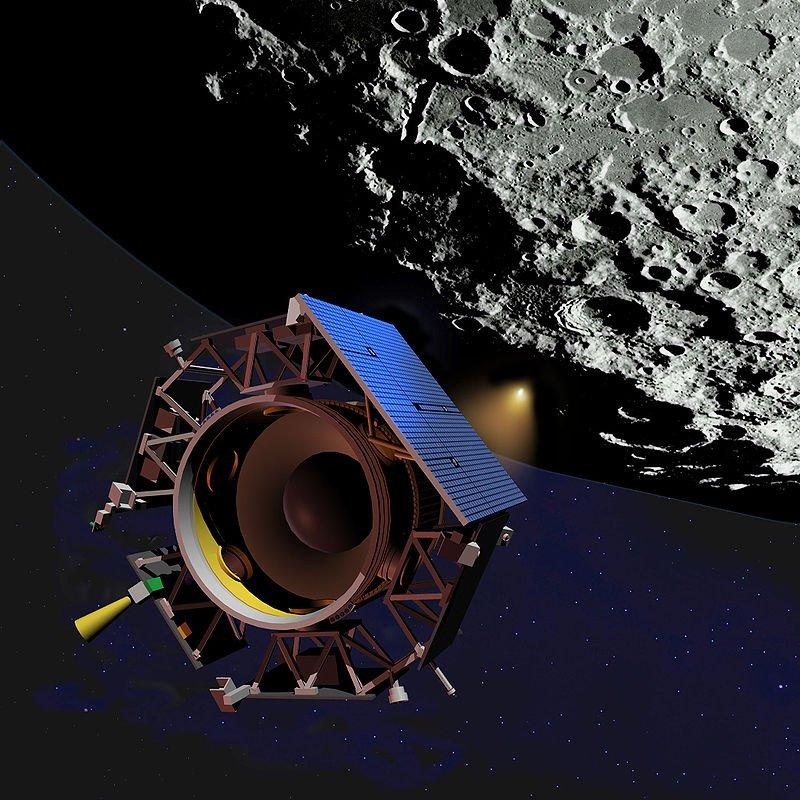 Hace hoy 10 años la sonda LCROSS operada por la NASA impactó en la Luna, tal y como estaba previsto. La misión permitió confirmar la presencia de agua en un un cráter lunar https://t.co/LMhLUvsvkB