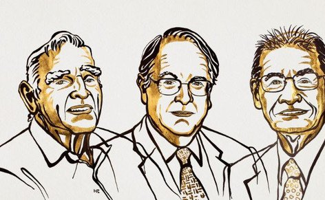 Disculpad. Hemos incluido por error la imagen correspondiente a los premiados con el Nobel de Física ayer. Esta es la imagen correcta de los premiados con el Nobel de Química 2019 https://t.co/uiyMOJdssX