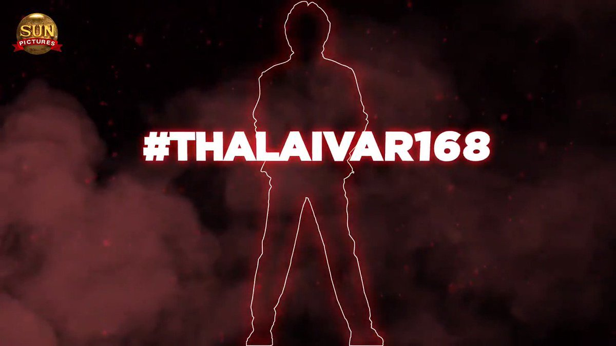 After the blockbuster hits Enthiran and Petta, the mega hit combo of Superstar @rajinikanth and @sunpictures come together for the third time for Thalaivar 168, Superstar's next movie, directed by @directorsiva  #Thalaivar168BySunPictures