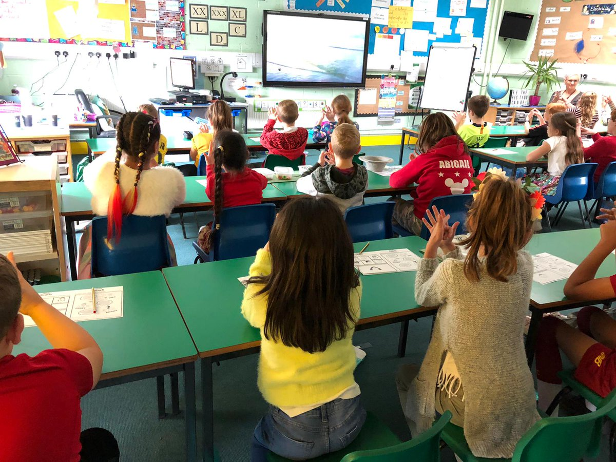 test Twitter Media - Year 4 learning a finger breathing exercise while participating in @BBCLiveLessons for World Mental Health day today #gobright https://t.co/fEwdHyGhbQ