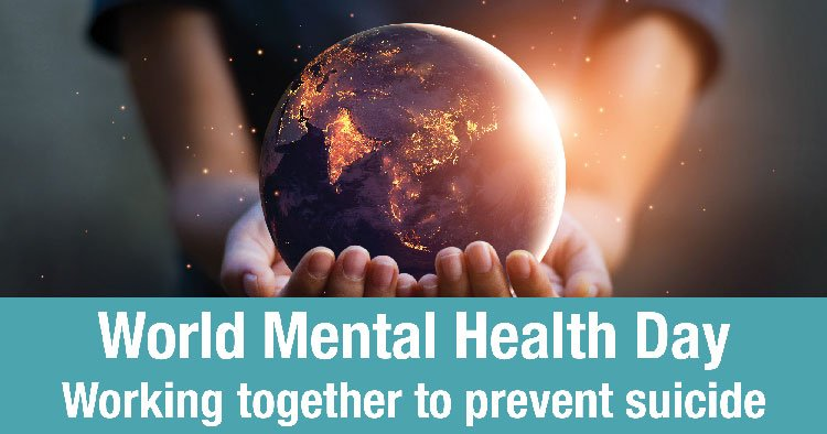 test Twitter Media - Today is World Mental Health Day! There is no health without #mentalhealth. Join us to help ensure #MentalHealthForAll: https://t.co/yr8Aa4aipY #WMHD https://t.co/GH96Zx2P3y