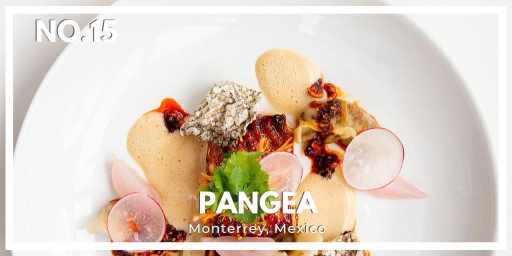 No.15 in Latin America's 50 Best Restaurants 2019 is Pangea in #Monterrey, Mexico. #LatAm50Best @ggberistain @grupopangea https://t.co/RvpUlMhkg8