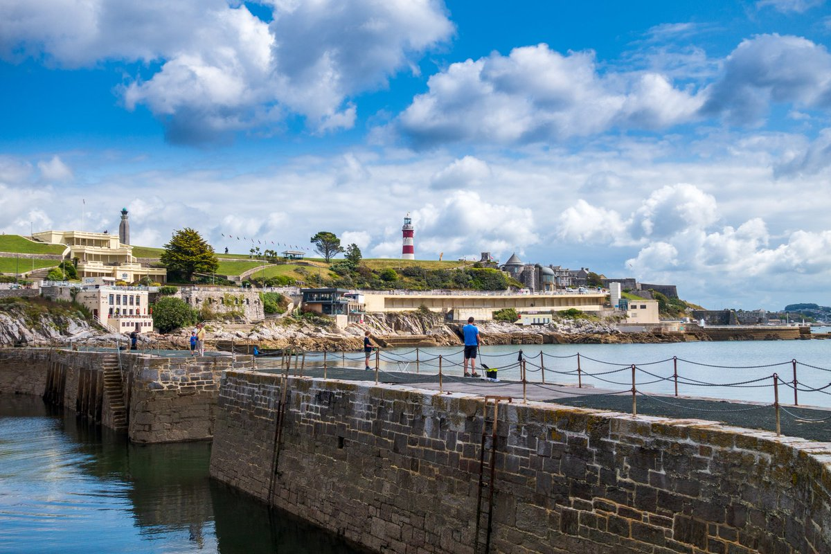 test Twitter Media - West Hoe Pier, a Grade II listed structure, protects a small harbour. The perfect spot for admiring Plymouth's waterfront and iconic landmarks.  #Plymouth #Lighthouse #Sea #Coast #Pier #Harbour #Seascape #View #Coastline #WeKnowPlymouth https://t.co/XsL5KXKYIh