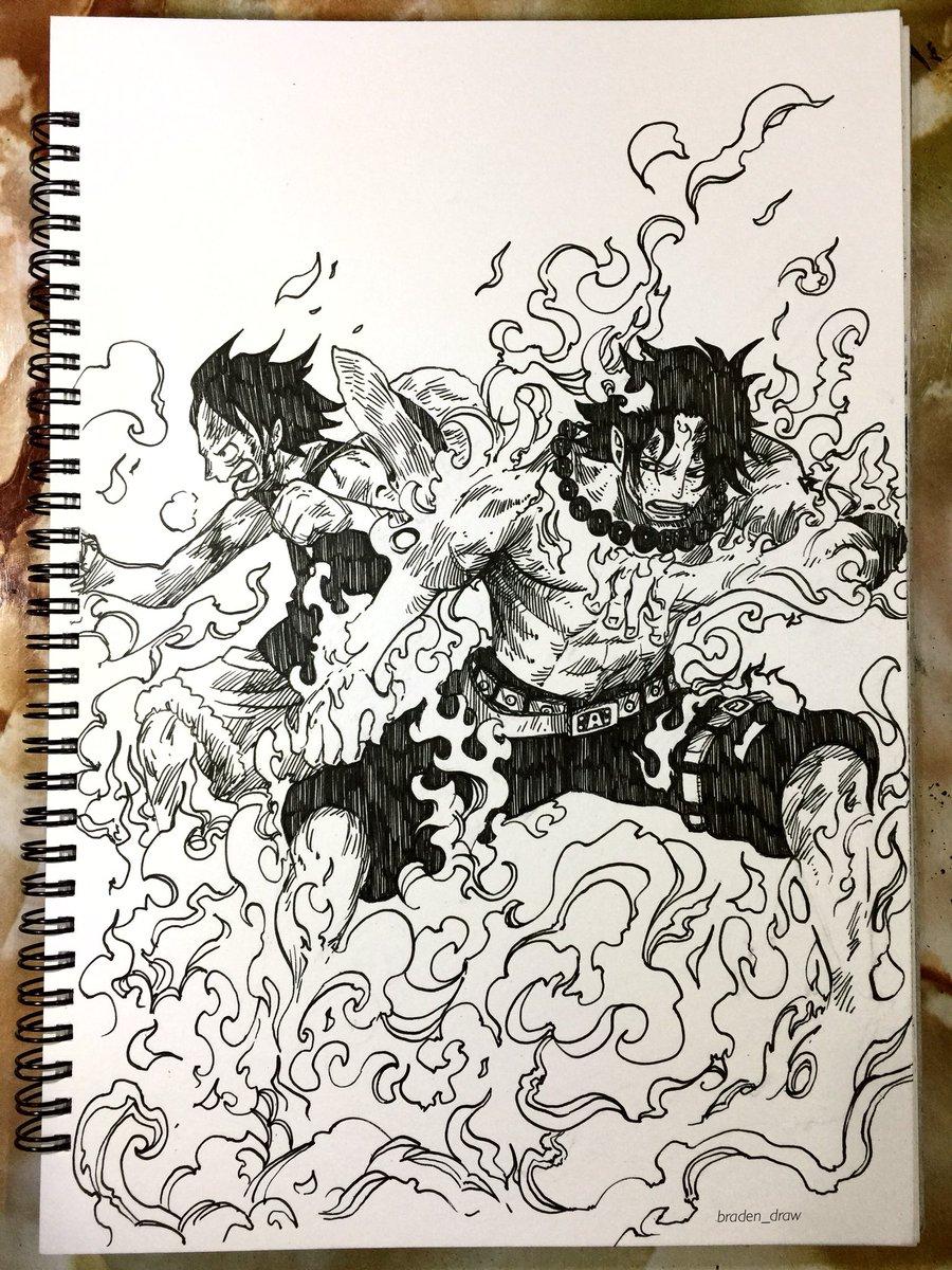 test Twitter Media - Ace&Luffy brotherhood ❤️ #ワンピース #モンキーdルフィ #ルフィ #ペン画 #드로잉 #예술 #그림 #원피스 #onepiece #onepiecemanga #strawhat #mugiwara #monkeydluffy #luffy #portgasdace #ace #anime #manga #otaku #pendrawing #art #animedrawing #mangadrawing #drawing #artwork #illustration https://t.co/0iHVi1tU75