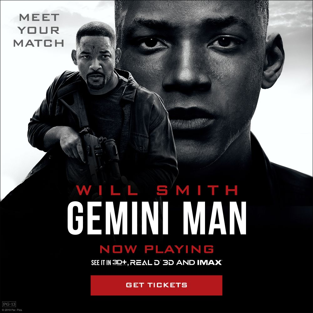 test Twitter Media - Action that demands to be seen in #DBOX. #GeminiMan, starring Will Smith hits theatres tomorrow. https://t.co/0xNthRVO4E    //  Un film d'action qui doit être vu en D-BOX.  #GeminiManMovie maintenant en cinéma. https://t.co/6kYZLqyHcC