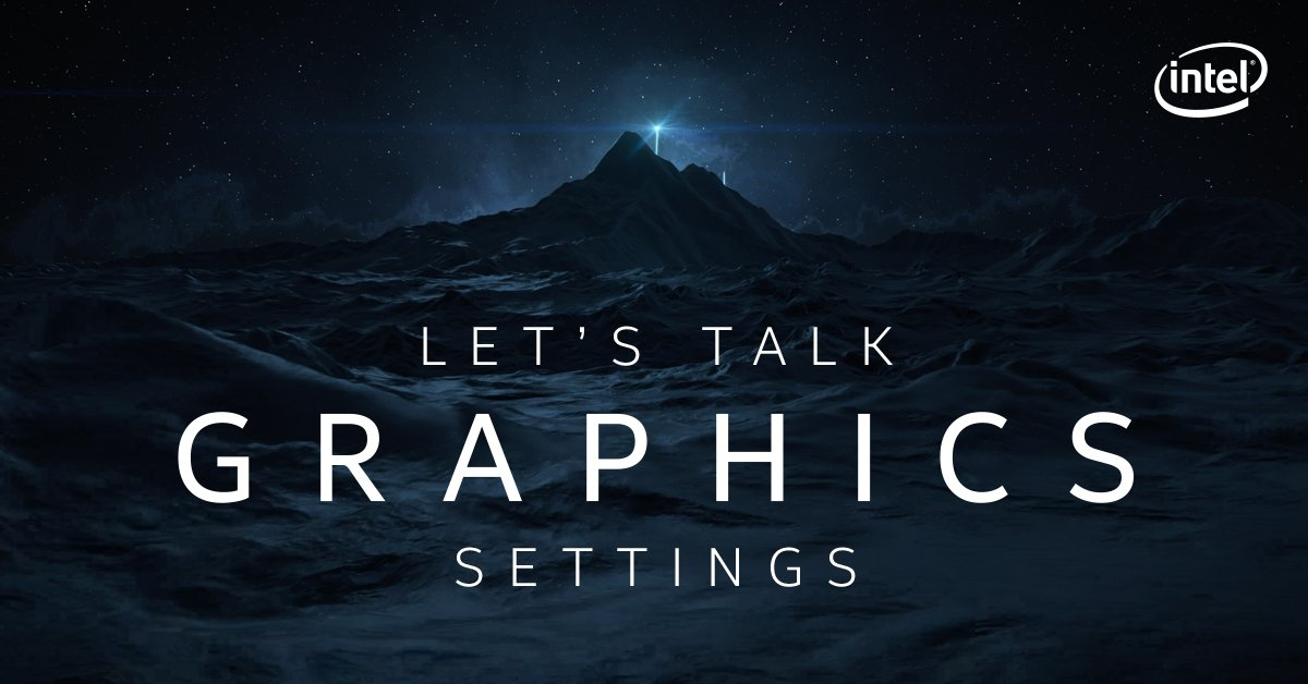 Happy Friday, Graphics community! Our question for today: Which default graphics settings do you use? Your answers can help us know what to prioritize for future updates! #JoinTheOdyssey https://t.co/kImiLCoYmV