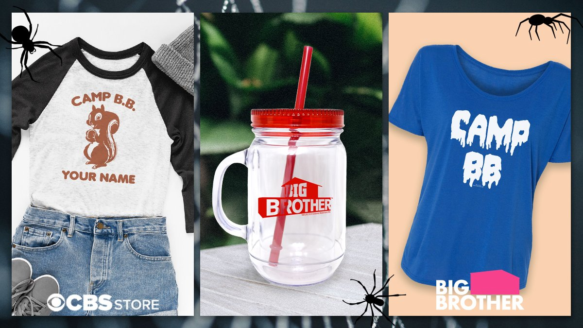"""test Twitter Media - RT CBSBigBrother """"Get your favorite #BigBrother gear just in time for #Halloween! Shop the CBS Store NOW: https://t.co/WDQJzBIzno https://t.co/eZCnhDyUWz"""""""