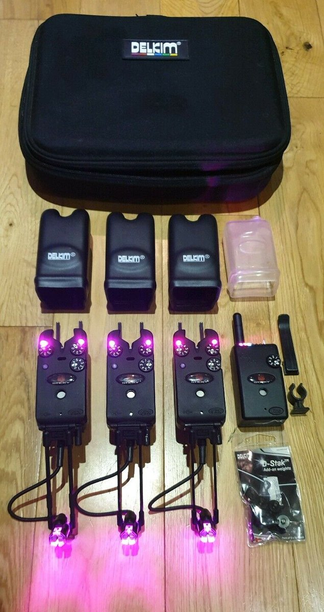 Ad - 3 Purple Delkim TXi Plus alarms & accessories On eBay here -->> https://t.co/WnKYvVu4