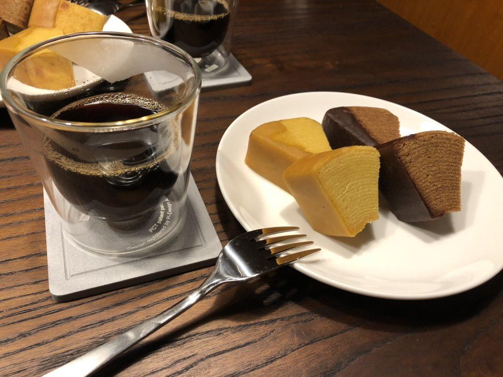 test ツイッターメディア - 台風なのでコーヒーを淹れて治一郎のバウムクーヘンを頂きました https://t.co/3TANmuFAxs
