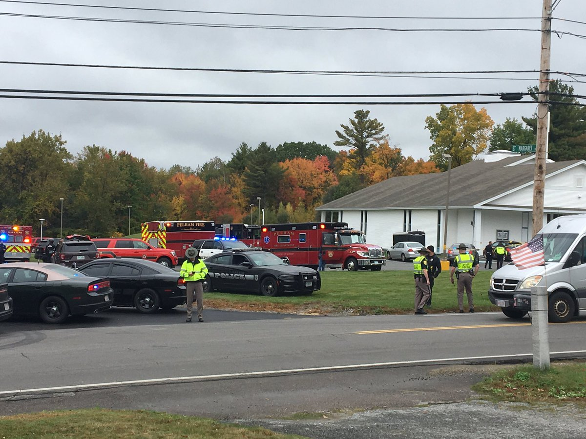 test Twitter Media - Heavy police presence at New England Pentecostal Ministries on Bridge St in Pelham. @PelhamNHPolice can only confirm there is an active investigation. Road is open to traffic. #WMUR https://t.co/5uhPzam1jF