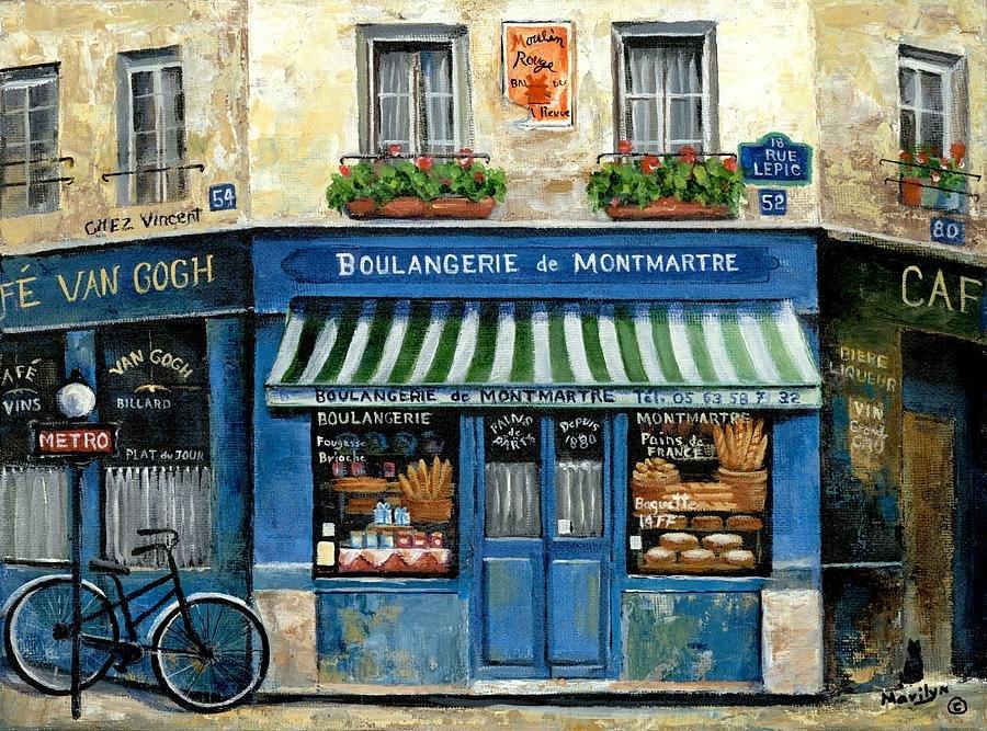 Marilyn Dunlap Boulangerie de Montmartre  Paris https://t.co/e90hzL5PhO