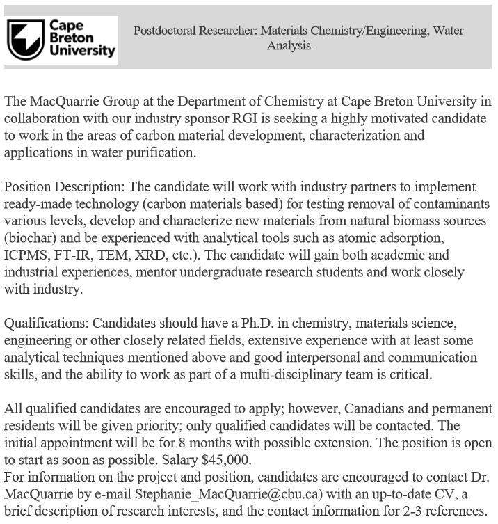 test Twitter Media - PDF position available in the MacQuarrie Group at Cape Breton University https://t.co/Pza2nXdCXx