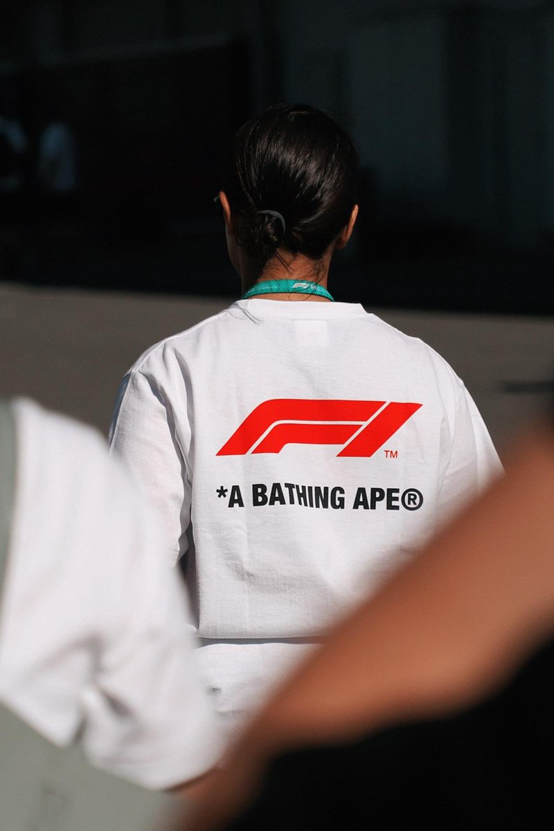 test Twitter Media - Motorsport and streetwear inspired podium, is the first of its kind and adorns the BAPE® camo across the Formula 1 podium. Fans were able to witness one of the most distinctive activations displayed by Formula 1 to date as @ValtteriBottas collected his winning trophy. @F1 https://t.co/JVvo1m8iCU