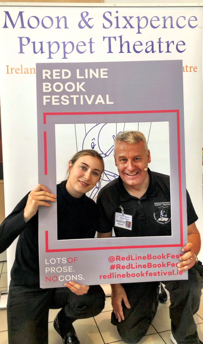 test Twitter Media - Delighted to be part of this year's @RedLineBookFest with our marionette production of Jacqueline & the Beanstalk! https://t.co/r3QNFrSaCy