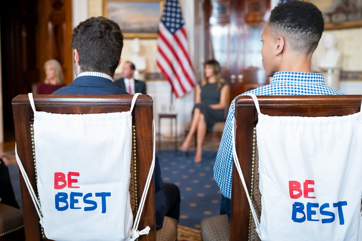 test Twitter Media - In a continued effort to protect the next generation and encourage them to #BeBest, @FLOTUS invited a group of teenagers to the White House this week to discuss the effects of vaping on their lives, schools, and communities. https://t.co/qG56pGsNCK https://t.co/IxMPWHAygO