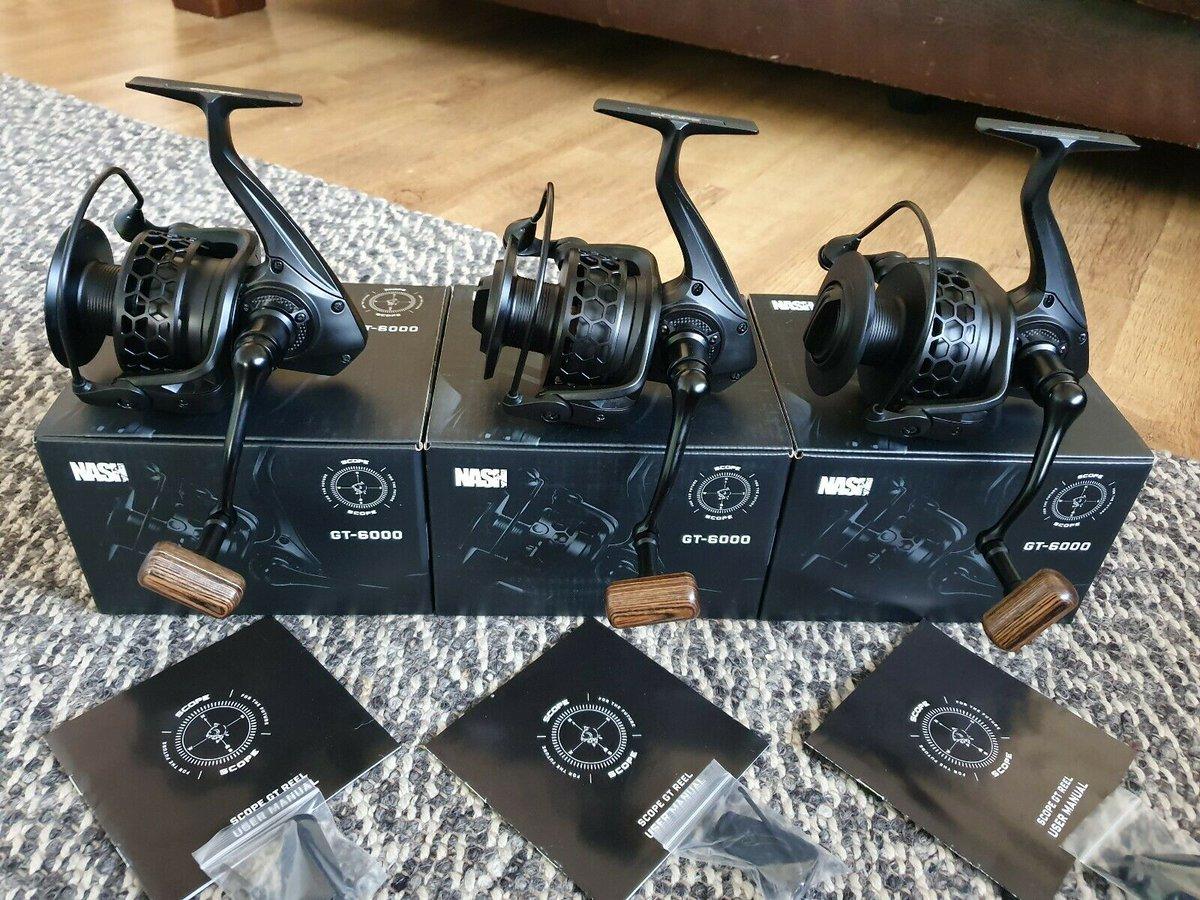 Ad - Nash Scope GT 6000 Carp Fishing Reels On eBay here -->> https://t.co/FZUTr24nao  #carpfis