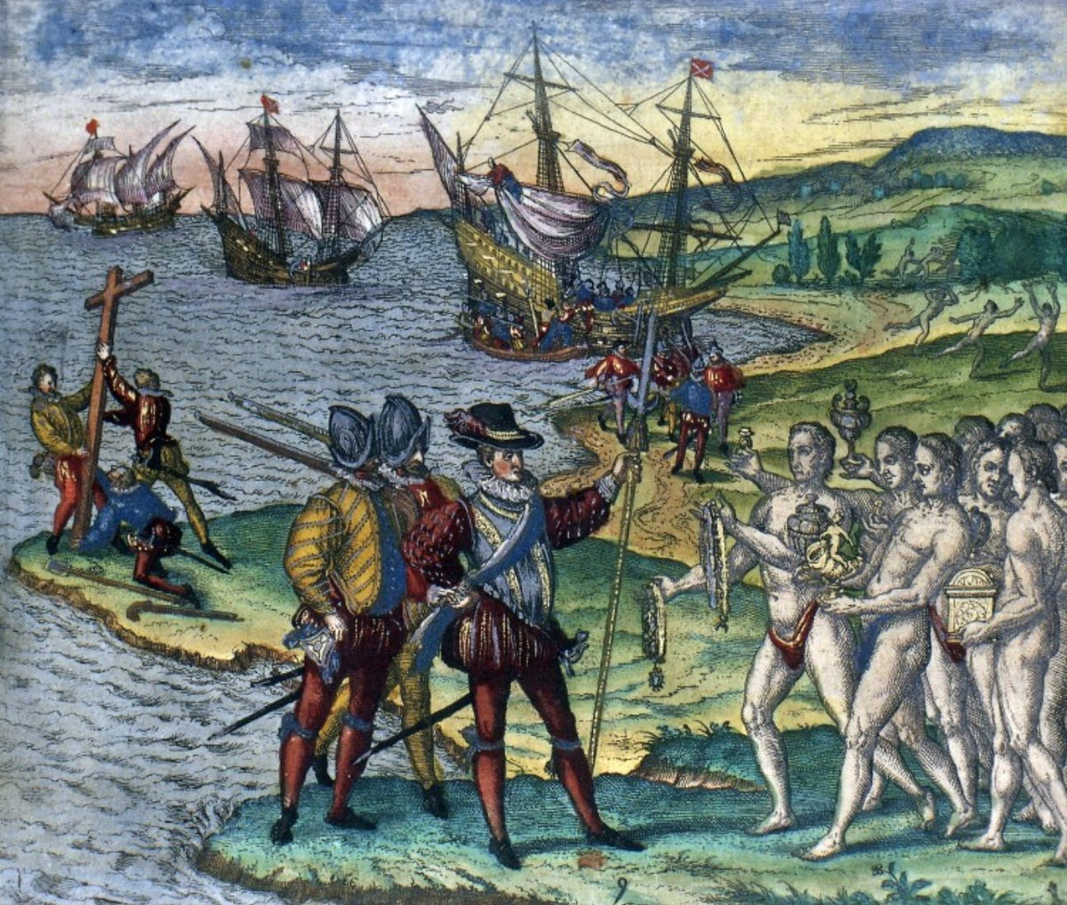 test Twitter Media - In 1502, during his final voyage to the New World, Christopher Columbus experienced his first-ever hurricane off the coast of Hispaniola. Thanks to the stories and skills of the local Taino tribes, he was able to avoid disaster. Read more here:  https://t.co/qmFr9TvTrD #NWS150 https://t.co/FQa6VPR6wL