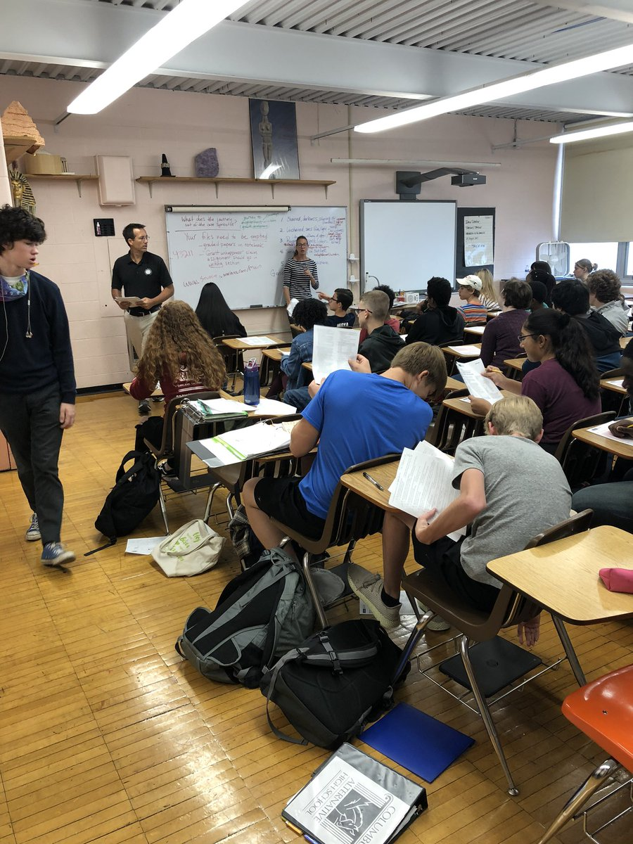test Twitter Media - Dr Milligan and our AmeriCorp Blessing A. (CAHSalum) with the Class of 2023 exploring their strengths and preparing for the upcoming PSAT8/9. @MilliganPhD https://t.co/rBsyHWUWqQ